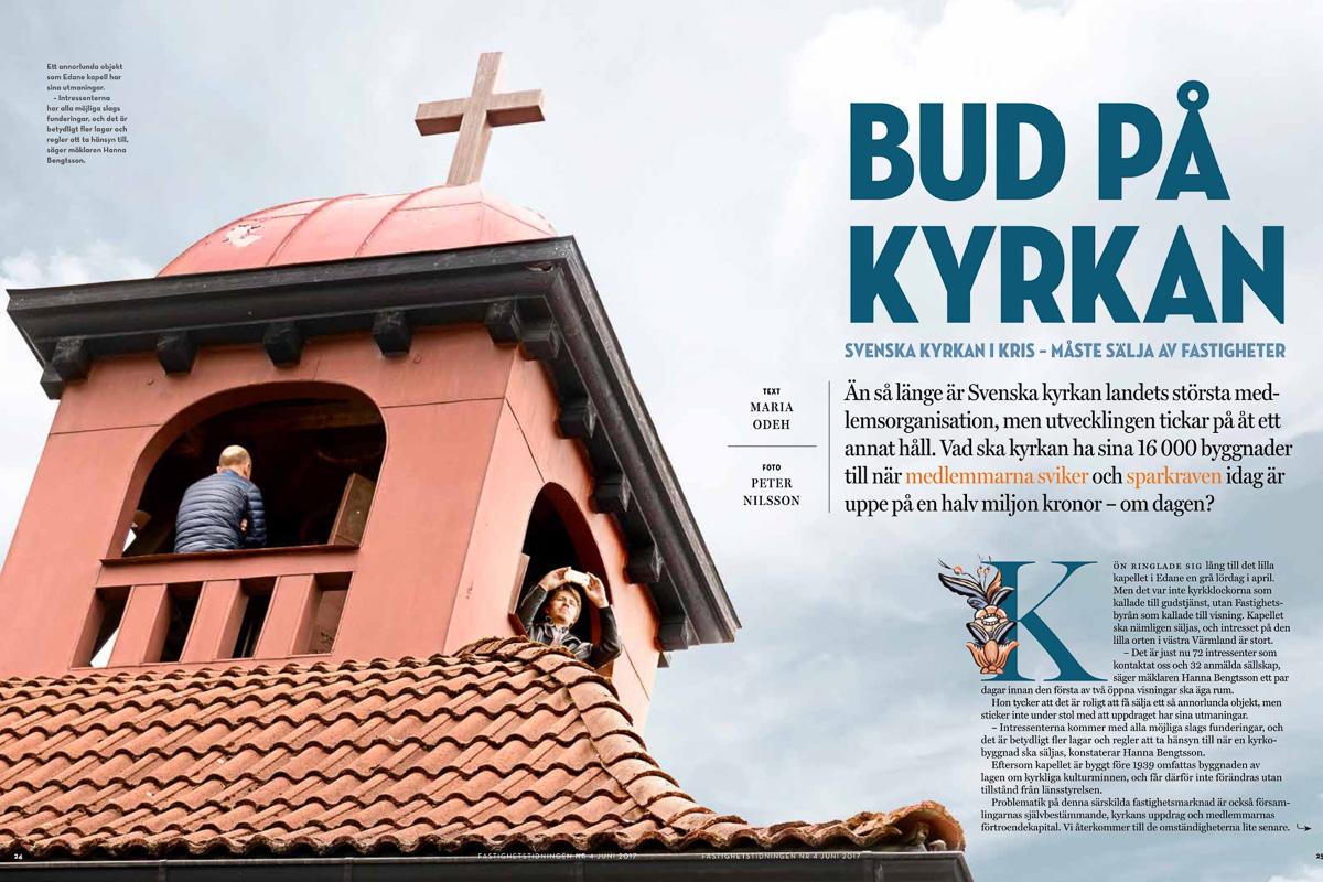 Edane kapell i Fastighetstidningen